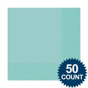 Robins Egg Blue Luncheon Napkins (50 Pack)