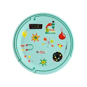 Robot Science Dessert Plates (8 Count)