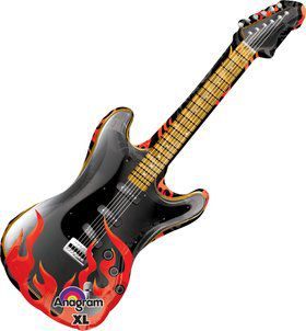 "Rock on Guitar 39"" Balloon (Each)"
