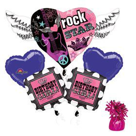 Rock Star Girl Balloon Kit