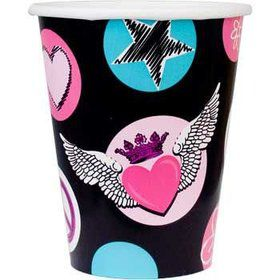 Rock Star Girl Cups (8-pack)