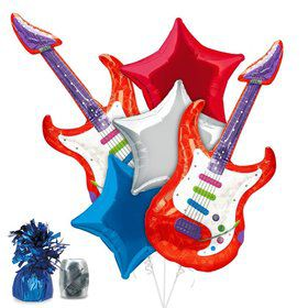Rock Star Party Balloon Kit