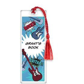 Rock Star Personalized Bookmark (each)