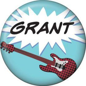 Rock Star Personalized Mini Magnet (each)