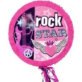 Rocker Girl Pinata (each)