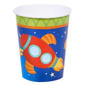 Rocket to Space 9 0z Paper Cups (8)