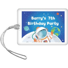 Rocket to Space Personalized Bag Tag (Each)