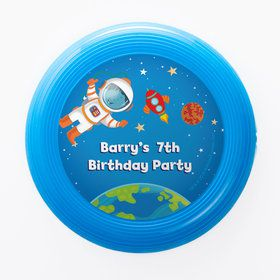 Rocket to Space Personalized Mini Discs (Set of 12)