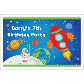 Rocket to Space Personalized Placemat (Each)