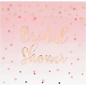 Rose All Day Bridal Shower Lunch Napkin (16)