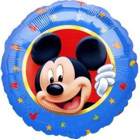 "Round Mickey 18"" Balloon (Each)"