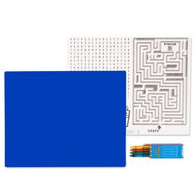 Royal Blue Activity Placemat Kit for 4