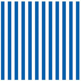 Royal Blue Stripe Jumbo Gift Wrap