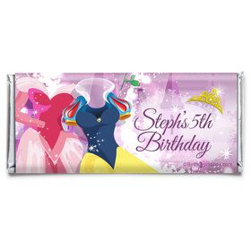 Royal Princess Personalized Candy Bar Wrapper (Each)