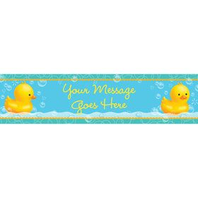 Rubber Duck Personalized Banner (Each)