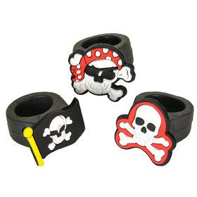 Rubber Pirate Ring (12)