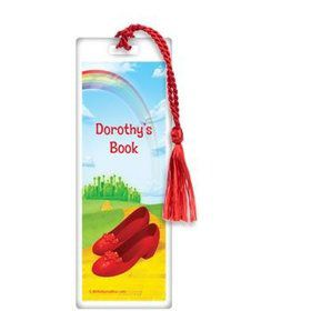 Ruby Slippers Personalized Bookmark (each)