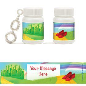 Ruby Slippers Personalized Bubbles (18 Pack)