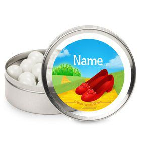 Ruby Slippers Personalized Candy Tins (12 Pack)