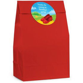Ruby Slippers Personalized Favor Bag (Set Of 12)