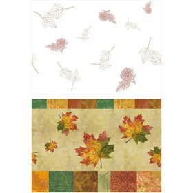 Rustic Fall Plastic Tablecover