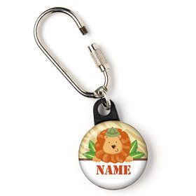 "Safari Adventure Personalized 1"" Carabiner (Each)"