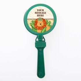 Safari Adventure Personalized Clappers (Set of 12)