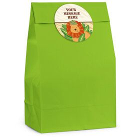 Safari Adventure Personalized Favor Bag (12 Pack)
