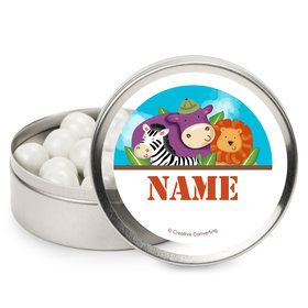 Safari Adventure Personalized Mint Tins (12 Pack)