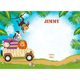 Safari Adventure Personalized Thank You (Each)