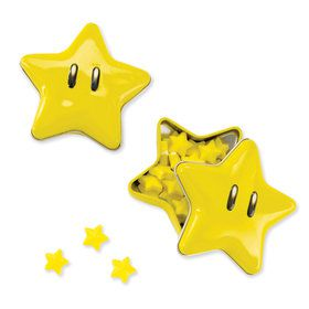 Super Mario Bros. Starman Candy Tin
