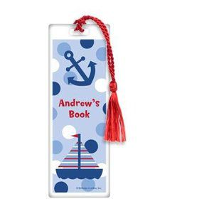 Sail Party Personalized Bookmark (each)