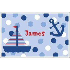 Sail Party Personalized Placemat (each)