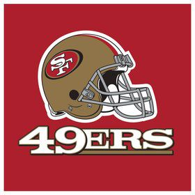 San Francisco 49ers Luncheon Napkins (16 Count)