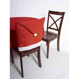 Santa Hat Chair Cover (1)