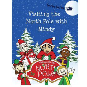 Santa's List Personalized Coloring Book (Each)