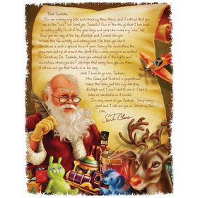 Santa's Workshop Personalized Letter (Each)