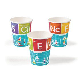 Science Party 9oz Cups (8)