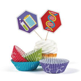 Science Party Cupcake Wrappers (50)