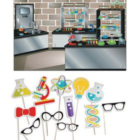 Science Party Photo Booth Kit