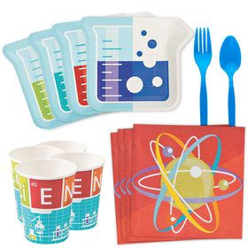Science Party Standard Tableware Kit (Serves 8)