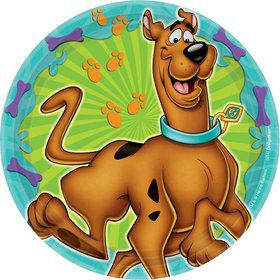 "Scooby Doo 7"" Cake Plates (8 Pack)"