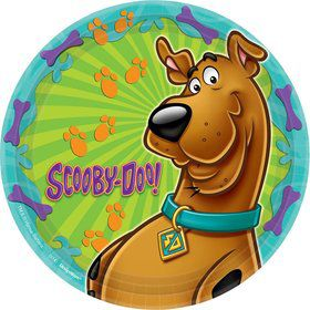 "Scooby Doo 9"" Luncheon Plates (8 Pack)"