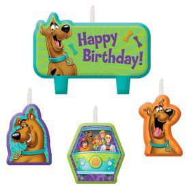 Scooby Doo Birthday Candle Set (3 Pack)