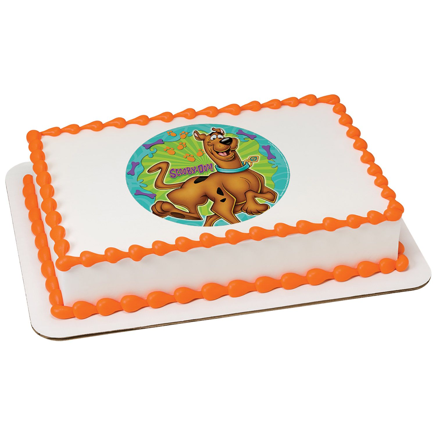 Scooby Doo Quarter Sheet Edible Cake Topper (Each) BB37516QTR
