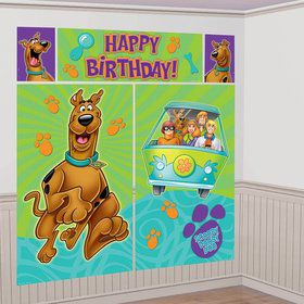 Scooby Doo Scene Setter Wall Decorating Kit (Each)