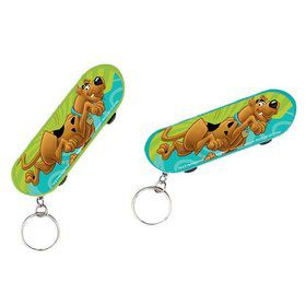 Scooby Doo Skateboard Keychain Favor (Each)