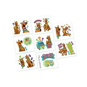 Scooby Doo Tattoo Favors (16 Pack)