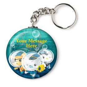 "Sea Explorer Personalized 2.25"" Key Chain (Each)"