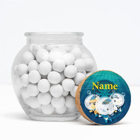 "Sea Explorer Personalized 3"" Glass Sphere Jars (Set of 12)"
